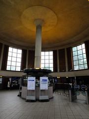 Inside the Ticket Hall (failing_angel) Tags: 180519 london piccadillylinetour londonboroughofenfield arnosgrove charlesholden adamsholdenandpearson charleshutton frankpick