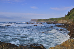 IMG_0434 (nicolemurray303) Tags: nicolem northernireland ireland coantrim uk canon northcoast causewaycoast fairhead seaofmoyle sea water rocks ballycastle coast