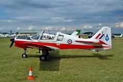 G-BZXZ  (XX629) Scottish Aviation SA.120 T.1 Bulldog [BH120/294] (Ex Royal Air Force) Kemble~G 09/07/2004 (raybarber2) Tags: abpic airportdata bh120294 cnbh120294 codedv egbp filed flickr gbzxz planebase raybarber single ukcivil v vxx629 warbird xx629