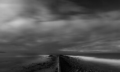 Moody Seascape (martin-nolan) Tags: nikon d7200 autumn ireland wexford leinster winter sea seascape water slow longexposure