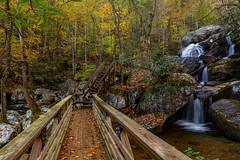 South Mtn Lower High Shoal Falls November 2019 (VisualizedPerception) Tags: fallcolor waterfall northcarolina southmountain southeasternunitedstates rogerchavers forest earth nature