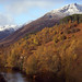 Sgurr Na Lapaich with snow
