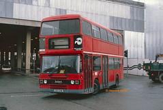 Rossendale 150 (C90 CHM) (SelmerOrSelnec) Tags: rossendale leyland olympian ecw manchester corporationstreet londontransport bus c90chm
