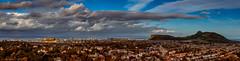 What are men to rocks and mountains? (Impact Imagz) Tags: edinburgh edinburghcastle arthursseat volcano volcanic city cityscape scotland historicscotland cloudsstormssunsetssunrises cloudscapes clouds firthofforth panorama canon