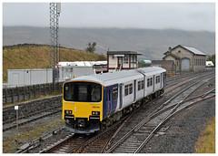 150129  Kirkby Stephen  26-10-19 (Gray Callaway) Tags: dmu class150 150129 kirkbystephen passenger 2019