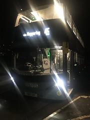 Nct 435 Sky Blue Line 45 (Snape Bus Pics) Tags: nct nottinghamcitytransport skyblueline45 yn18svf scania 435 alexanderdennis enviro400cbgcity