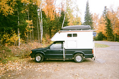 000079270016 (onebellboy) Tags: algonquin onebellboy provincialpark fall autumn foliage disposable fuji lake camping outdoors ontario water landscape woods