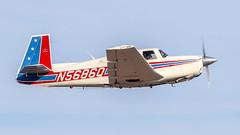 Mooney M20E N5686Q (ChrisK48) Tags: kdvt 1965 mooneym20e airplane n5686q phoenixaz dvt aircraft phoenixdeervalleyairport