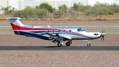 Pilatus PC-12/47E N527VK (ChrisK48) Tags: kdvt n527vk airplane phoenixaz aircraft parinasgeneralcorp 2016 dvt phoenixdeervalleyairport pilatuspc1247e