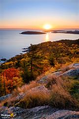 Sugarloaf Mountain Sunrise, Marquette Michigan (Michigan Nut) Tags: fall marquette sugarloafmountain sunrise autumn fallcolors greatlakes lakesuperior michigan upperpeninsula