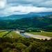Looking Down on the River Mawddach