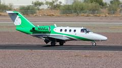 Cessna 525 CitationJet N55CJ (ChrisK48) Tags: citation cessna525 softlandingllc citationjet 1998 n55cj kdvt aircraft airplane phoenixaz dvt phoenixdeervalleyairport