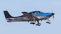 Cirrus SR22T N804HS (ChrisK48) Tags: kdvt aircraft airplane cirrussr22t n804hs 2016 dvt phoenixaz phoenixdeervalleyairport