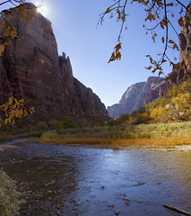 Zion Kolob Canyon, Utah, USA (swissuki) Tags: zion national nature park valley virgin river mountain main landscape largelandscape usa ut utah
