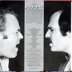All In The Family - Back Cover (epiclectic) Tags: 1971 television backcover epiclectic vintage vinyl record album cover art lp retro music sleeve collection jacket epiclecticcom