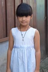 cute girl (the foreign photographer - ฝรั่งถ่) Tags: cute girl child khlong thanon portraits bangkhen bangkok thailand nikon d3200 white dress