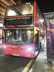 Nct 610 Red Line 43 (Snape Bus Pics) Tags: enviro400 alexanderdennis scania yp63wfk redline43 610 nottinghamcitytransport nct
