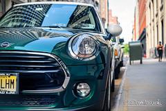 Mini Cooper (Karlgoro1) Tags: sony alpha a7r ii mirrorless digital camera ilce7rm2 carl zeiss jena q1 biotar t 58mm f2 manhattan new york city street road pattern colors car vehicle light lights mini cooper