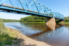 Wabasca River Bridge From Below (Bracus Triticum) Tags: wabasca river bridge from below アルバータ州 alberta canada カナダ 8月 八月 葉月 hachigatsu hazuki leafmonth 2019 reiwa summer august