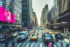 8th Avenue (Raúl Urrutia) Tags: usa newyork nuevayork manhattan nyc