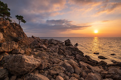 Crimean Coast (gubanov77) Tags: crimea nature sunset blacksea goldenhour sea ayazma landscape