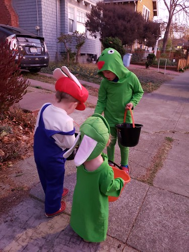 Paul - Off for trick-or-treating