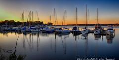 Boats on Monroe Bay (maj22443) Tags: virginia northernneck monroecreek potomacriver sailboats sunrise westmorelandcounty