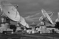 some discarded radio telescopes (avawoodworth) Tags: 2019 japan september outside architecture telescope
