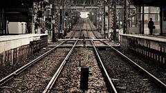 railway (Sat Sue) Tags: olympus micro four thirds m43 penf japan fukuoka railroad station