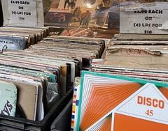 Village Music World, New York, NY (Sharon Hahn Darlin) Tags: lps records