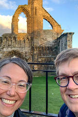 Cathedral Selfie! (Andrew Caird) Tags: andy cathedral me michelle scotland selfie standrews