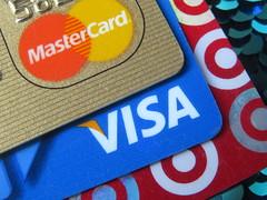Credit Cards (Vicki LW) Tags: creditcard mastercard visa target macromondays brandandlogos 852019 85119 representawellknownadvertisingslogan