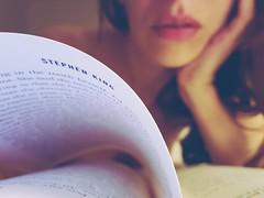 3. (Cookie ...) Tags: cookie selfportrait reading book stephenking