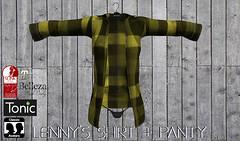 lenny's shirt+panty/yellow black (KoyukiKytori) Tags: secondlife slmarket secondlifemarketplace avatar avatarfashion koyuki mesh lennysshirt secondlifefashion 3dgame セカンドライフ