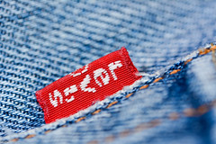 ... my Five-O-One ... (wolli s) Tags: 501 demin fiveoone hmm happy jeans levis macromondays mondays macro makro red blue