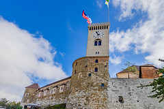 the Ljubljana castle (a7m2) Tags: laibach mestnaobčina ljubljana slowenien ljubljanskigrad castle lordsofcarniola landmark touristattraction travel culture history oldtown
