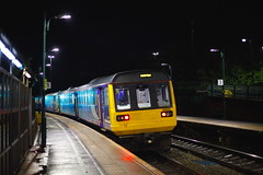 Green All The Way..... (marcus.45111) Tags: pacerdmu 142070 meadowhall ukrailwaysatnight greenlight flickr flickruk 2019 northernrail