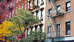 (Kylee Vincent Photography) Tags: new york nyc ny empire state kylee ulianokylee vincent usa unitedstatesofamerica america view art photography architecture city buildings building history historic empirestate fall autumn vacation trip walk 2019 october oct manhattan icon iconic fire escape fireescape design line brick stone stairs ladder uliano greenwhich village