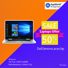 50% (Appworldindia) Tags: gachibowli hitechcity appworld likeforlikes apple samsung redmi vivo oneplus dell hp lenovo realme honor iphones redminote macbook imac