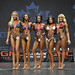 Bikini B 4th Kochurova 2nd Kazi 1st Garwood 3rd Mayorga 5th Killeen