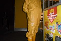 Raingear (lulax40) Tags: pvc rubber rubberboots rubberist rainwear raingear rubberfetish rubbergear rubberman gummimann gummiregenkleidung gummistiefel gummi fetish guy cotten hunter hunterboots yellow