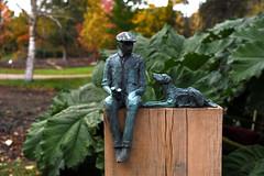 Savill Garden 30 October 2019 025 (paul_appleyard) Tags: one man dog simon conolly savill garden sculpture october 2019