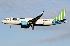BAMBOO  AIRWAYS / Airbus   A 320 NEO   F-WWIU   msn 9306 / LFBO - TLS / oct 2019 (gimbellet) Tags: canon nikon spotting spotter boeing blagnac lfbo planes transport transportation toulouse tls toulouseblagnac a330 a380 a320 airplanes a340 aviation aircraft avions airbus aeroport airport a350 aeronautique atr airplane aeroplane a320neo