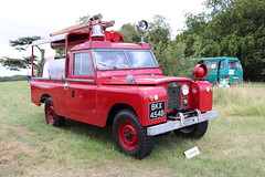 Land Rover Series IIA 109 BKX454B (Andrew 2.8i) Tags: festival unexceptional buckinghamshire middle claydon meet show coche voitures voiture autos auto cars car british emergency 999 fireengine offroad 4x4 4wd 09 2 ii 2a iia series landrover bkx454b