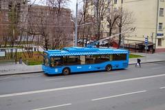 (Бесплатный фотобанк) Tags: россия москва осень городской транспорт троллейбус