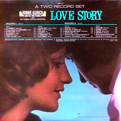 Love Story - Back Cover (epiclectic) Tags: 1971 ronniealdrich backcover epiclectic vintage vinyl lp record album collection music epiclecticcom cover art retro sleeve jacket