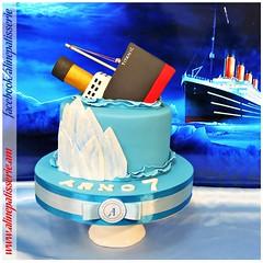 Sinking Titanic Birthday Cake (alinepatisserie) Tags: titanic cake cakes cakeart cakeartist cakelove cakestudio cakeboutique
