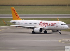 Pegasus Airlines A320-251NEO taxiing at VIE/LOWW (AviationEagle32) Tags: vienna viennaairport viennaschwechatairport schwechatairport schwechat vie loww austria airport aircraft airplanes apron aviation aeroplanes avp aviationphotography avgeek aviationlovers aviationgeek aeroplane airplane planespotting planes plane flying flickraviation flight vehicle tarmac pegasusairlines airbus airbus320 a320 a320200 a322 a320251n a320251neo a320neo a20n a320251 tcnbi
