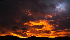 Le soleil fait son cinéma (mrieffly) Tags: leverdujour nuages canoneos50d alsace htrhin vosges hautesvosges photorouge