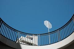 elevator (jhnmccrmck) Tags: sky blue minimalism urban hawaii honolulu fujifilm fujifilmxt1 xt1 classicchrome